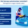 Vak van automonteur verandert door opmars elektrische auto