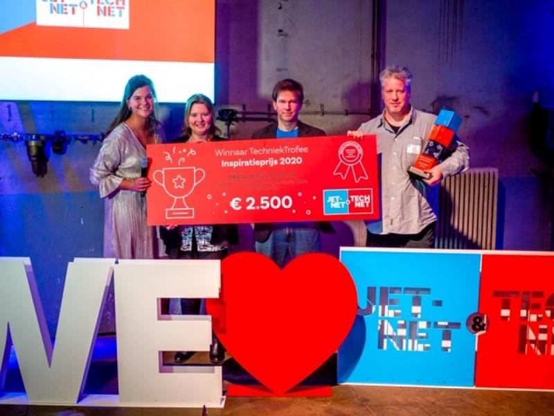 2020.30.01_02 - Basisscholen Wethouder van Eupen uit Eindhoven en de Wissel uit Den Haag grote winnaar van de TechniekTrofee 2020
