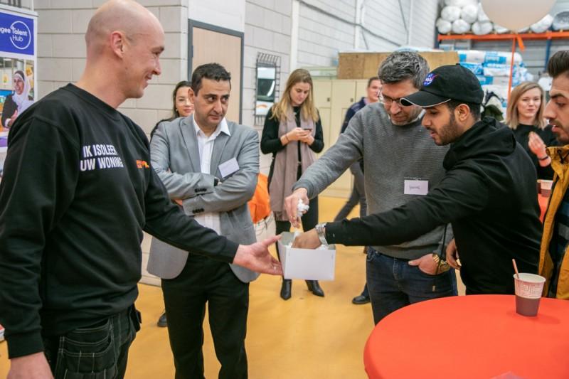 2020.29.01_03 - Essent en Refugee Talent Hub werken samen aan oplossing monteurstekort
